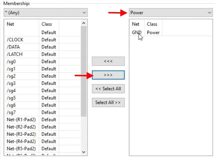 Control track widths with nets | Kicad Like a Pro